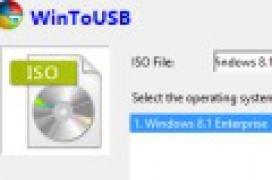 """Crear la unidad Windows To Go con """"WinToUSB"""""""