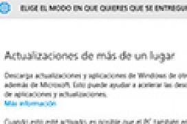 Cómo desactivar las actualizaciones P2P en Windows 10