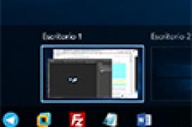 Cómo mover ventanas entre escritorios múltiples de Windows 10