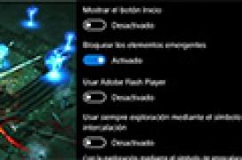 Desactiva el uso de Flash en Microsoft Edge