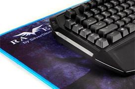 SilverStone Raven RVP01, una alfombrilla extralarga para teclado y ratón