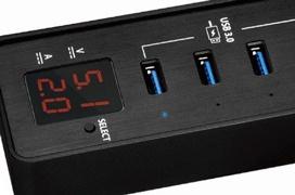Nuevo HUB USB 3.0 SilverStone EP03 con carga rápida