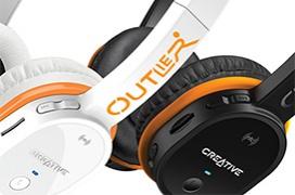 Creative presenta sus nuevos auriculares Outlier