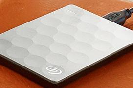 Seagate Backup Plus Ultra Slim, el disco duro externo de 2 TB más fino del mundo