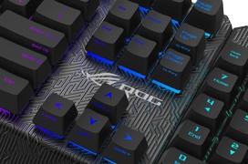 ASUS ROG Claymore, teclado mecánico RGB