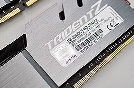 GSkill DDR4 TridentZ F4-3200C14Q-32GTZ