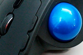 Review Trackball Logitech MX Ergo