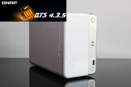 Review NAS QNAP TS-251B con Gestión de Caché SSD y Security Counselor
