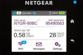 Review Router de viaje Netgear AirCard 810