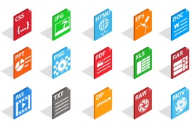 Los archivos: tipos, extensiones y programas para su uso