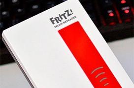 Punto de acceso y repetidor FRITZ!WLAN Repeater 1750E