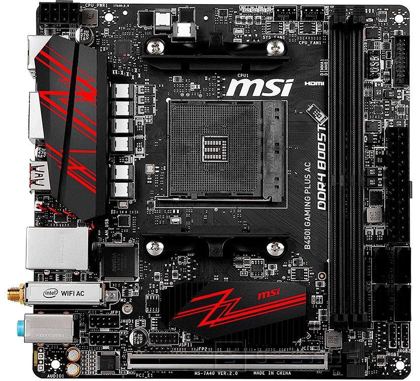 MSI PERFORMANCE GAMING B450M GAMING PLUS AM4 AMD B450 SATA 6Gb//s USB 3.1 HDMI Mi