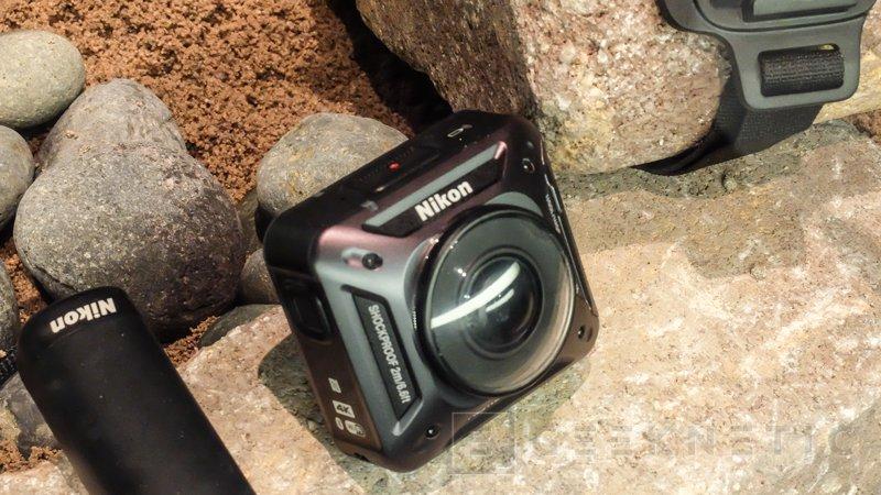 Nikon entra en el mercado de las cámaras de acción con la nueva KeyMission 360, Imagen 1