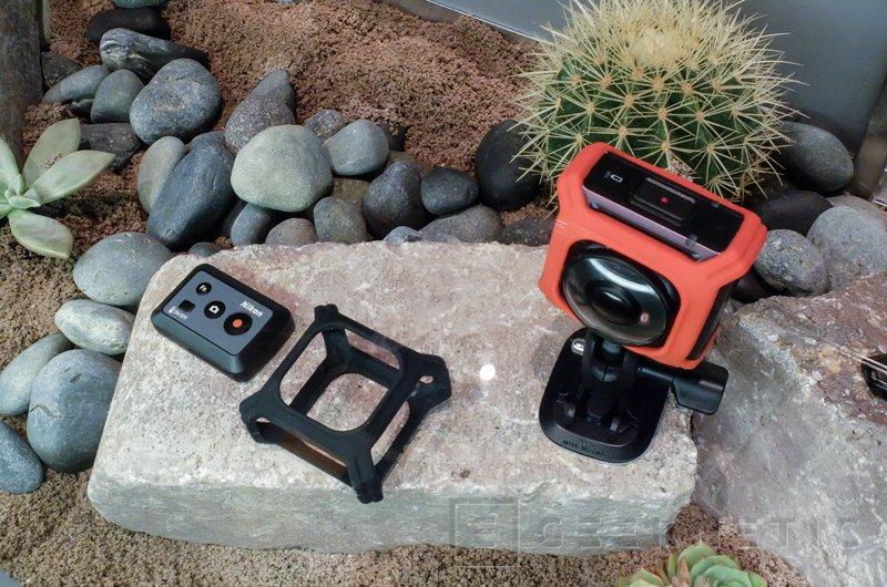 Nikon entra en el mercado de las cámaras de acción con la nueva KeyMission 360, Imagen 2
