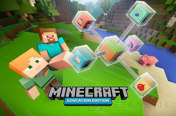 Microsoft lanzará una versión de Minecraft para entornos educativos, Imagen 1
