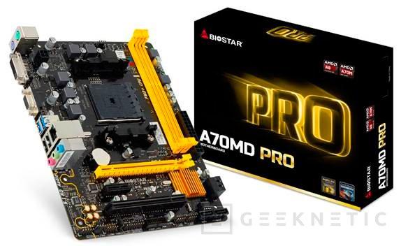 Nuevas placas base BIOSTAR PRO Series para procesadores AMD, Imagen 1