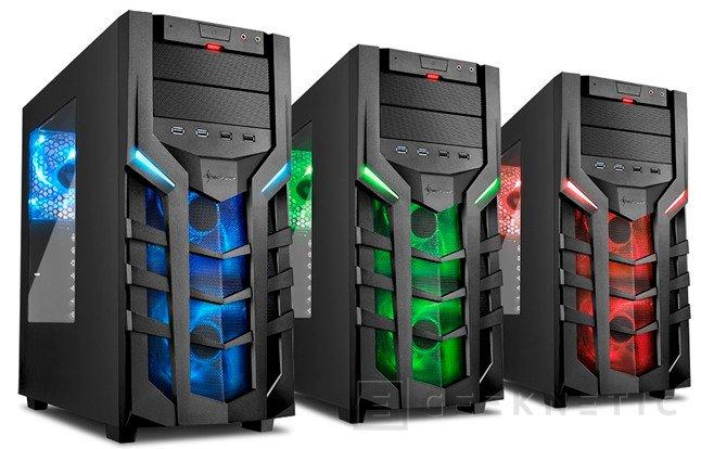 Nueva línea de torres gaming DG7000 de Sharkoon, Imagen 1