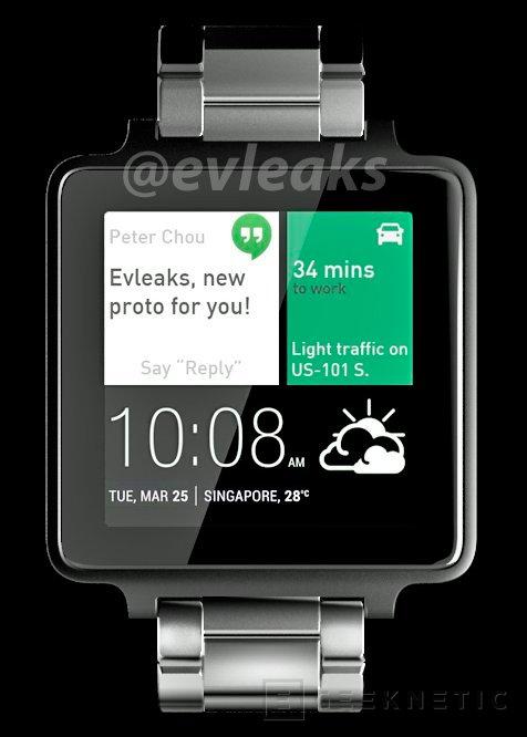 Se filtra abril como fecha para el lanzamiento del primer smartwatch de HTC, Imagen 1