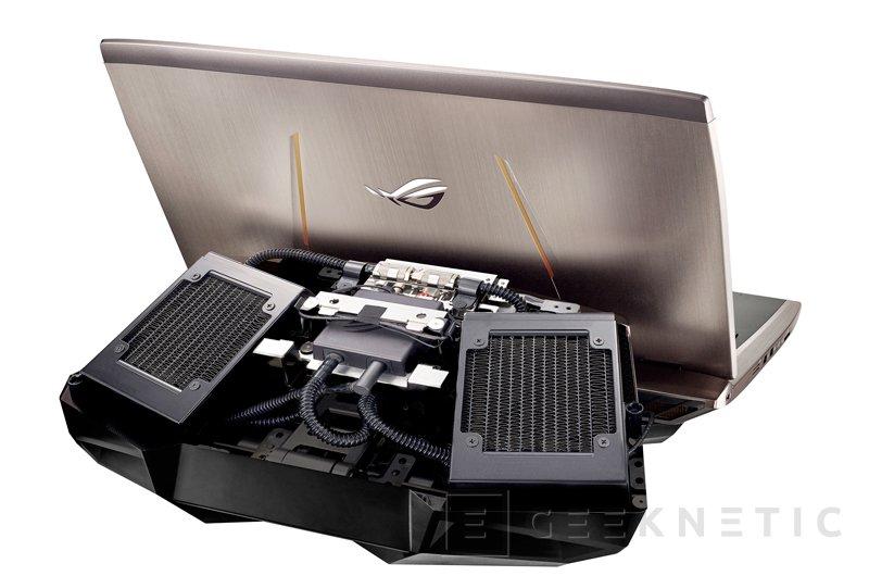 Llega a España el impresionante portátil ASUS GX700 con refrigeración líquida, Imagen 2