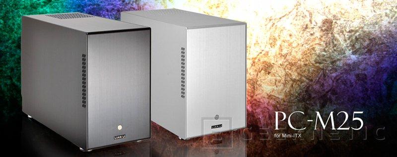 Lian Li PC-M25, nueva torre compacta para mini servidores o NAS, Imagen 1