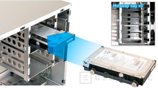 Lian Li PC-M25, nueva torre compacta para mini servidores o NAS, Imagen 2
