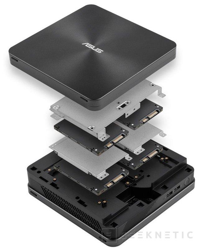 ASUS estrena la gama de ordenadores compactos VivoMini con el nuevo VC65, Imagen 2