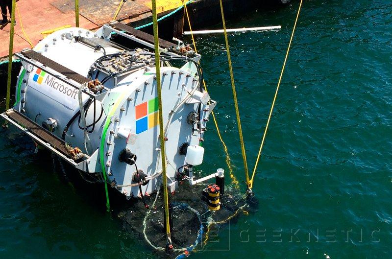 Microsoft Project Natick: centros de datos sumergidos en el mar, Imagen 1