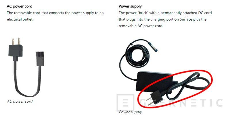 Microsoft también retira los cables corriente de las Surface Pro 1, 2 y 3 por peligro de incendio, Imagen 1