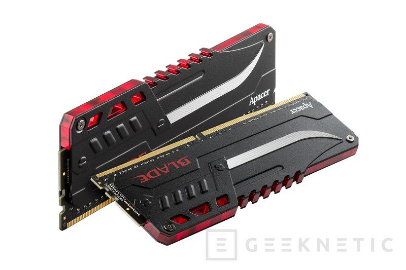 Apacer anuncia nuevas memorias DDR4 Blade Fire a 3.200 MHz con LEDs, Imagen 2