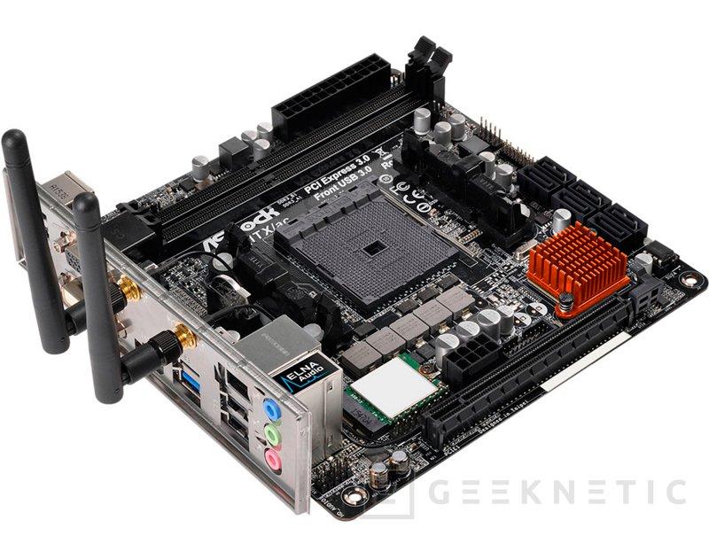 ASRock A88M-ITXac, nueva placa mini-ITX para procesadores AMD FM2+, Imagen 1