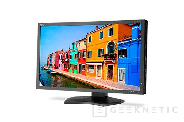 Nuevo monitor profesional 4K NEC MultiSync PA332UHD-2, Imagen 1