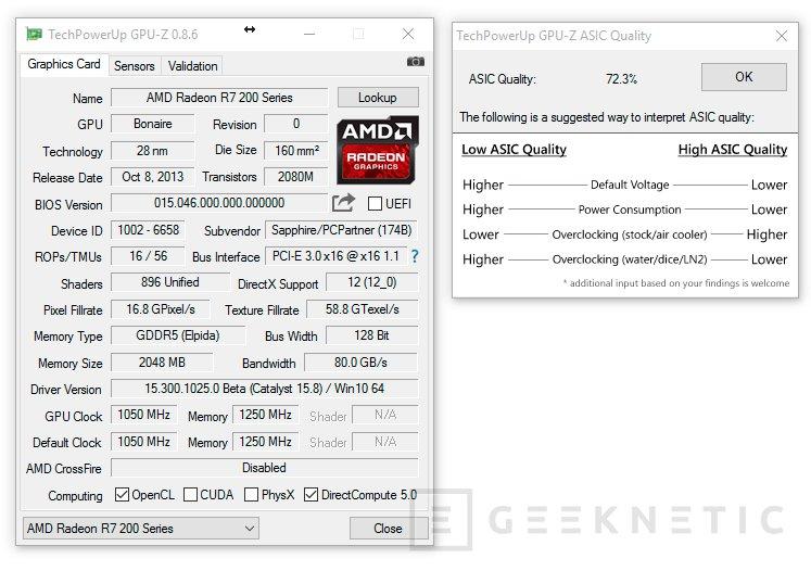 Cómo leer la calidad del ASIC de una GPU, Imagen 1