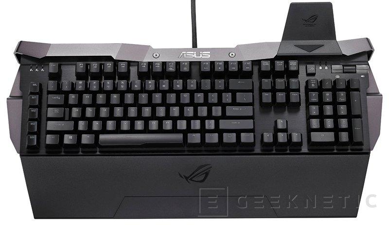 ASUS ROG Horus GK2000, nuevo teclado mecánico para jugadores, Imagen 1