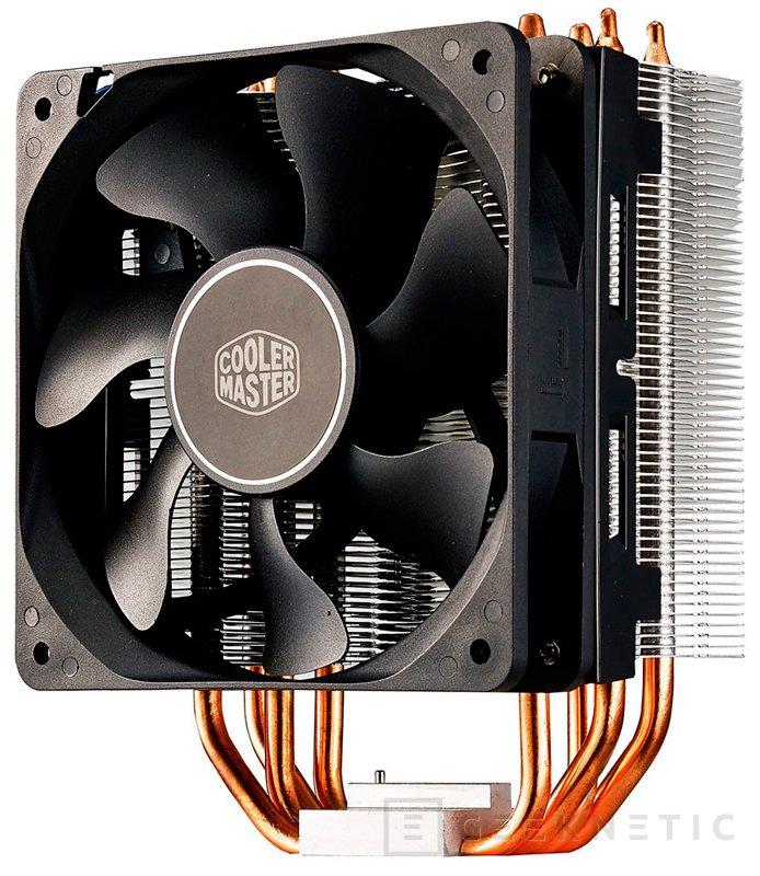 Nuevos disipadores económicos Cooler master Hyper 212X y TX3i, Imagen 2