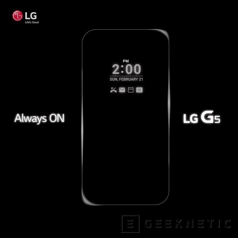 El LG G5 tendrá el sistema de notificaciones