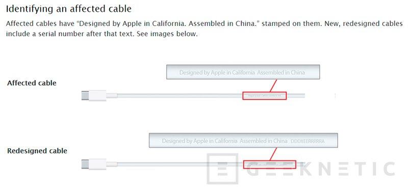 Apple retira también los cables USB-C de sus MacBook 12 por defectos de fabricación., Imagen 1