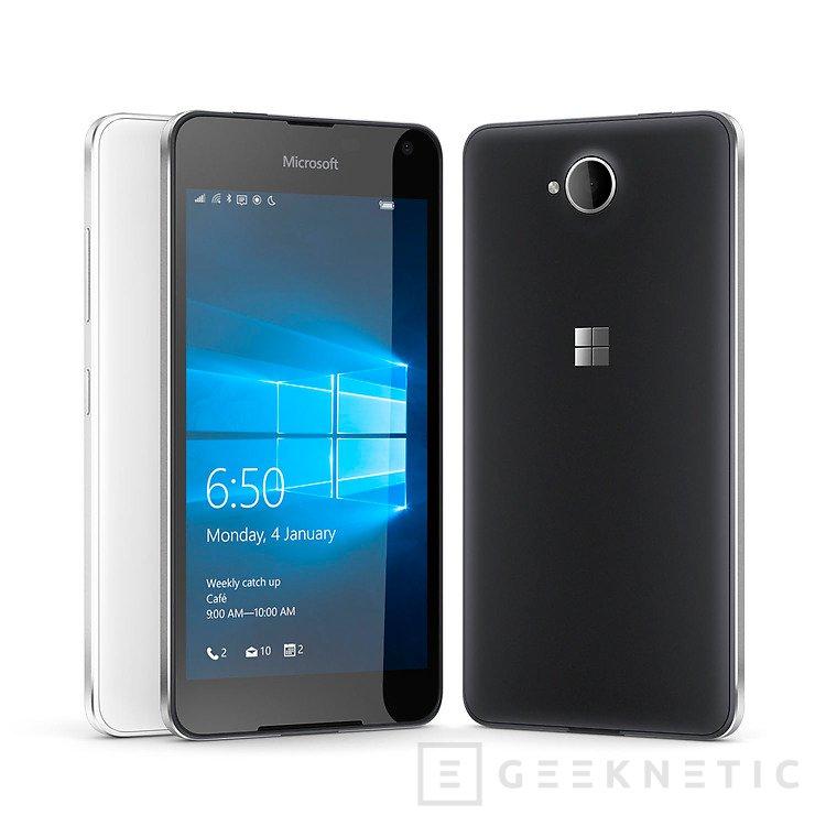 Microsoft presenta oficialmente el Lumia 650 con un Snapdragon 212, Imagen 1