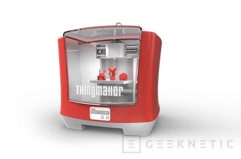ThingMaker 3D, una impresora 3D para los más pequeños, Imagen 1