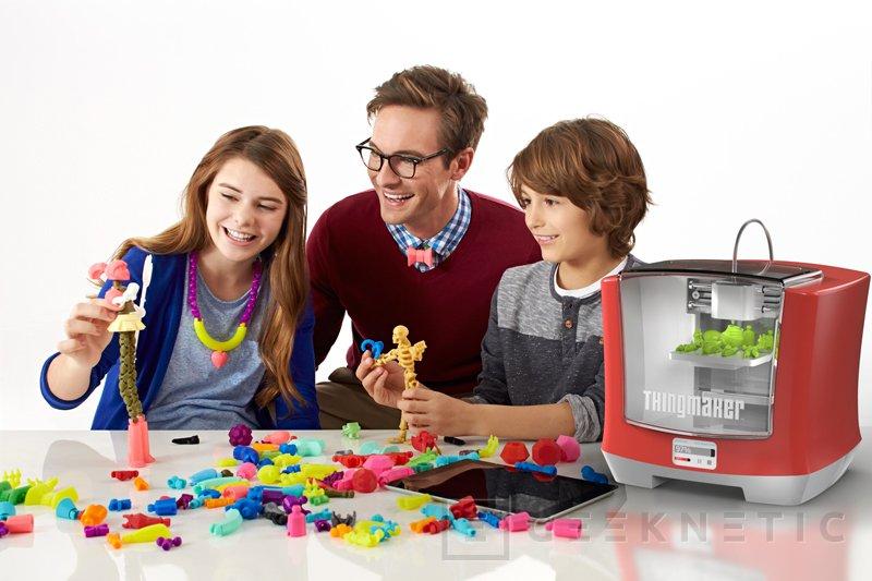 ThingMaker 3D, una impresora 3D para los más pequeños, Imagen 2
