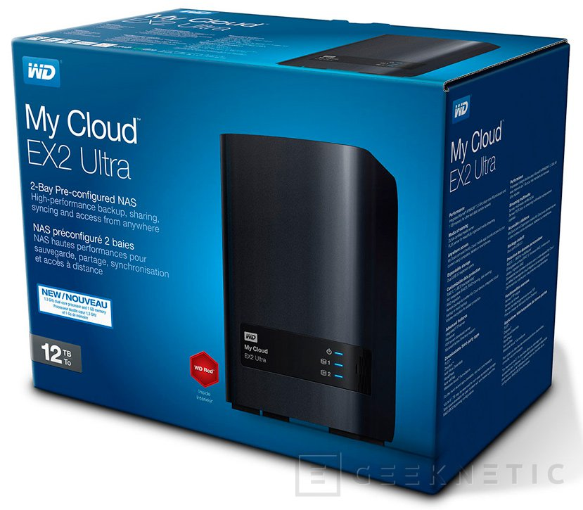 Western Digital My Cloud Ext2 Ultra NAS, Imagen 1