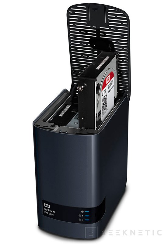 Western Digital My Cloud Ext2 Ultra NAS, Imagen 2