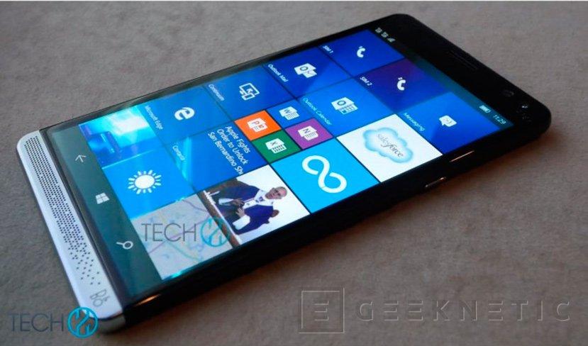 Primeras imáganes del HP Elite X3, el retorno de HP al mercado de los smartphones, Imagen 1