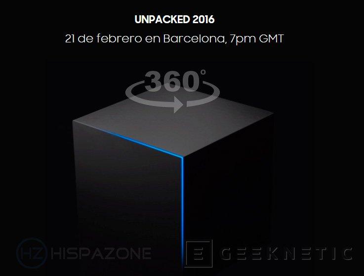 Samsung retransmitirá en 360 grados la presentación del Galaxy S7, Imagen 1