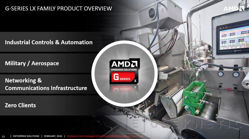 AMD lanza la tercera generación de SoCs integrados G-Series, Imagen 2