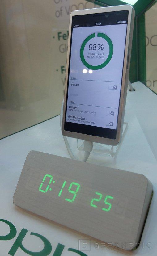 La tecnología SuperVooc de Oppo permite cargar completamente un smartphone en tan solo 20 minutos, Imagen 1