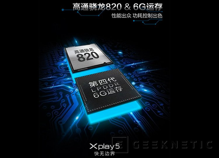 Vivo X5 Play, el primer smartphone con 6 GB de memoria RAM, Imagen 1