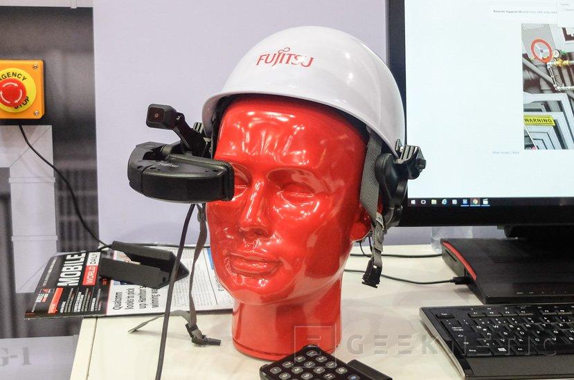 Fujitsu nos enseña sus gafas de realidad aumentada para usos industriales, Imagen 1