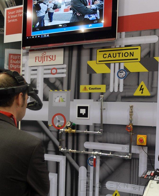 Fujitsu nos enseña sus gafas de realidad aumentada para usos industriales, Imagen 3