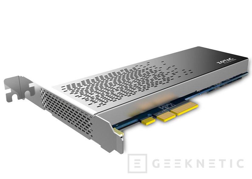 ZOTAC SONIX, nuevos SSD NVMe PCIe de alto rendimiento, Imagen 1