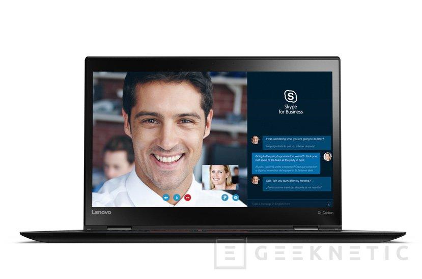 El Ultrabook profesional Lenovo ThinkPad X1 Carbon llega a España a partir de 1.639 Euros, Imagen 2